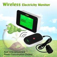 Wholesale New Wireless Digital Electricity Monitor Power Meter Energy Monitor Save Power Energy Watt Meter Analyzer