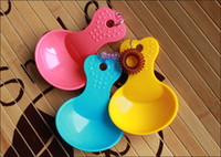 Wholesale 2015 new High Quality Pet Dog Cat Food Scoop Dog Food Shovel Candy Color Plastic Scoop