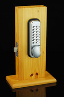 digital door lock - Mechanical Lockey Digital Numberal Deadbolt Door Lock Coded Lock with Handle New