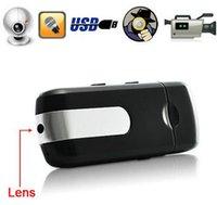 Wholesale Mini Surveillance USB U8 Camera Spy Cam Pinhole Video Camcorder DV DVR Recorder Hidden Spy USB Disk Camera