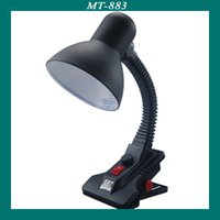Wholesale Desk Lamp Eye Protection Clip on Retro Desk Lamp Bedroom Fixture Reading Study Bed Laptop Desk Light for Living Room Lighting Push Button