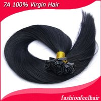 Cheap best seller #2 flat tip hair extension high quality Indian virgin human hair 18-28inches available