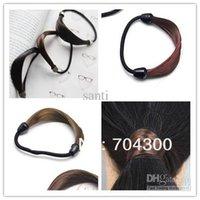 Wholesale Plaits Circle Manual Twist Rubber Korean Fashion Hair bands Ponytail holder Holders hair accessories