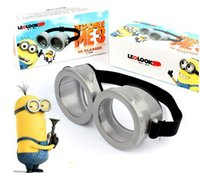 Wholesale New Despicable Me Minions Figure Costome Cosplay Glasses Goggles Kids Adult Christmas Hallowmas Gift