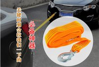 Wholesale High Strength Load tons of Nylon Car Trailer Rope Tow Truck Bus Traction Rope Meters