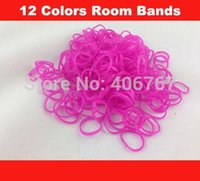Envío libre al por mayor Loom Band Refill Bolsa de goma Loom gomas Kit Para Loom Pulseras ¡500bag / lot 1027 # 27