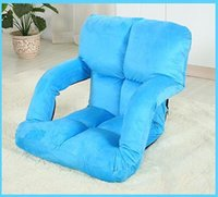 Wholesale Thanksgiving Home Living Room Furniture colors Floor Position Folding Contemporary Upholstered Lazy Armchair