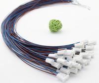 Wholesale G4 plug socket Ceramic base G4 Brown Blue line lamp holder cm CM lamp foot line is High temperature lines