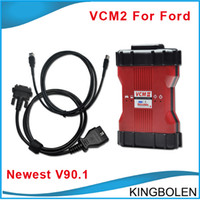 Wholesale DHL Fedex EMS Ford scanner Ford VCM II IDS V90 version Professional Ford Diagnosctic Programming and coding tool VCM2