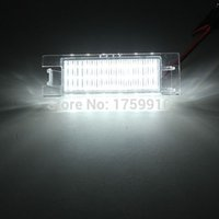 Wholesale Universal V K LED License Number Plate Light For Vauxhall Opel Corsa C D Astra H J Insignia order lt no track