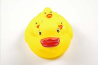 Wholesale Toys Manufacturers selling vinyl toys baby take a shower yellow duck small gifts and selling products