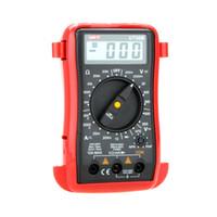 Wholesale UNI T UT30B LCR Meter LCD Data Hold Count DC AC Voltage Current Resistance Palm Size Digital Multimeters Multimetro order lt no track
