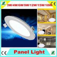 Cheap No 15W Led panel lights Best 110-240V 2835 12W Ceiling light