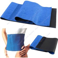 weight loss body wraps - Hot Waist Trimmer Exercise Wrap Belt Slimming Burn Fat Sweat Weight Loss Body Shaper SV005080