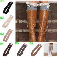 100 % wool socks - 100 BBA4136 lady color lace hollow out leg warmers wool knit handmade leg warmers socks button down Ballet Dance Boot Cuffs Stocking Socks