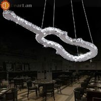 assured hotels - latest popular style lyriform modern pendant lamp apply to parlor hotel hall bar led item Quality assured order lt no track