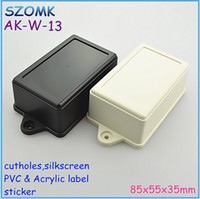 abs plastic enclosures - szomk abs swith housing for pcb board mm abs plastic enclosure power distribution box electrical panel cabinet