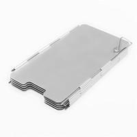 aluminium stove - NEW Plates Foldable Aluminium Alloy Outdoor Cooker Picnic Camping Cooking Gas Stove Wind Shield Screen Protecting Bag