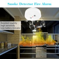 Wholesale Smart House Wireless Photoelectric Home Security System Cordless Smoke Detector High Sensitive Stable Fire Alarm Sensor