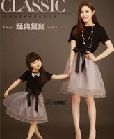 designer brand childrens clothes - 2015 family clothing butterfly tulle dress mother daughter designer dresses summer matching family dresses childrens clothing