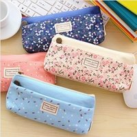 Cheap Fabric capacity double zipper pencil case Best Pencil Bag Schools & Offices pencil bag