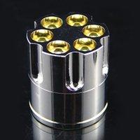 Wholesale New Bullet Shape Metal Cigar Tobacco Grinder Hand Muller Hot Sale High Quality