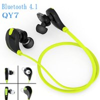 Wholesale Original new QCY QY7 Wireless Bluetooth Stereo Earphone Fashion Sport Running Headphone Studio Music Headset with Microphone
