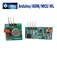 Wholesale 10pair MHZ Wireless RF Transmitter and Receiver Link Kit for Arduino ARM MCU WL