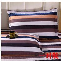 Wholesale Cotton pillowcases pair of cm cm cotton twill pillow pillow core set