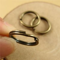 Wholesale A2220 Alloy Key Rings Antique Bronze Keyring mm