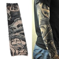 best arm sleeve - Best Promotion Piece Fake Tattoo Sleeve Temporary Designs Body Arm Stockings Fashion for Cool Men Women