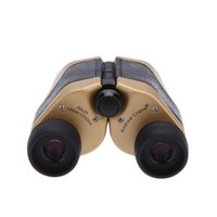 Wholesale Hot Sale X25 Mini LED Sports Outdoor Camping Optics Binocular Telescope Spotting Scope for Hiking Hunting Travel Gold