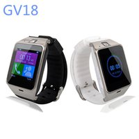 Wholesale Wearable Aplus GV18 SmartWatch Phone quot Bluetooth Smart Phone support NFC MP Cam Sync Call SMS for iphone Samsung Android