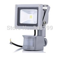 ac focus - W W W Human Sensor Lamp LED Reflector Flood Light High Power Waterproof Outdoor Focus Landscape Wall Lamp