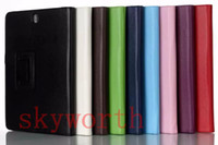 samsung galaxy tab - Magnetic PU Leather Folio Flip Case Cover for Samsung Galaxy Tab S A T350 T550 Lite T110 T310 Pro T700 Cover Stand
