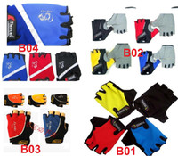 accessories for bike riding - Cycle gloves Bike Half Finger cycling gloves riding gear bike accessories bicycle gloves for driving outdoor sports mountain bike Gel kind