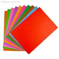 Wholesale A4 Size Hard Multicolour Cardboard Children s Art Of Paper Folding Cutting Craft Diy Cards Handmade Album