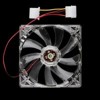 Wholesale New Arrival LED Blue mm Fans cooler for Computer PC Case cool Cooling