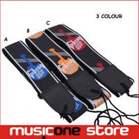 al por mayor guitarra acústica de nylon-2pcs correa de guitarra para guitarra eléctrica acústica Guitarra correa de cuero Accesorios guitarra MU0622