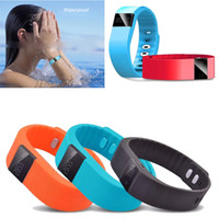 Wholesale 2015 HOT TW64 Waterproof Bluetooth Fitbit Flex Smart Watch sport Smartband Wristband Pedometer Anti Lost for IOS Android Smartphone
