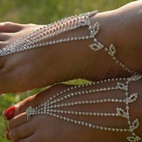 Wholesale New Arrival Hot Sales Fashion Bridal Alloy Barefoot Sandals Foot Jewelry Ankle Bracelet Beach