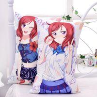 anime hug pillows - Anime LOVE LIVE NISHIKINO MAKI hugging pillow cases cosplay WT double sides print Dakimakura cm