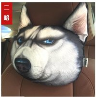 Wholesale Car headrest d cartoon neck pillow for a neck Formation of interior products