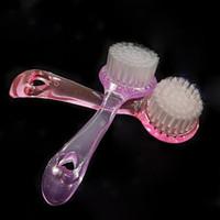 Wholesale Exfoliating Blackhead Facial Face Brush Care Cleaning Wash Cap Scrub Tool M01281