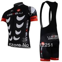 Wholesale 2015 castelli Team cycling jersey cycling clothing cycling wear short bib suit castelli A