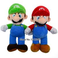 baby luigi plush - 1PCS High Quality Super Mario Soft Plush MARIO LUIGI cm SUPER MARIO BROSS PLUSH DOLL Baby Toy Plush Toys