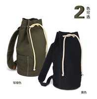 draw string bag - Factory customized travel canvas students draw string bag backpack backpack men s and women s basketball football package2