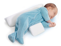 baby pillow - New Baby Infant Newborn Sleep positioner Anti Roll Pillow With Sheet CoverNew Baby Infant Newborn Sleep positioner Anti Roll Pillow With She