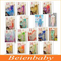 Wholesale DHL Free Colors Sexy Pareo Dress Sarong Bikini Cover Up Scarf Wrap Swim swimwear Beach Pareo Beautiful Charming Beach Wrap