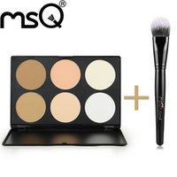 basic minerals makeup - Brand MSQ Basic Colors Concealer Mineral Powder Foundation Makeup Palette Face Powder Cosmetics Tools For Beauty
